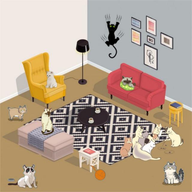 Faire cohabiter plusieurs chats